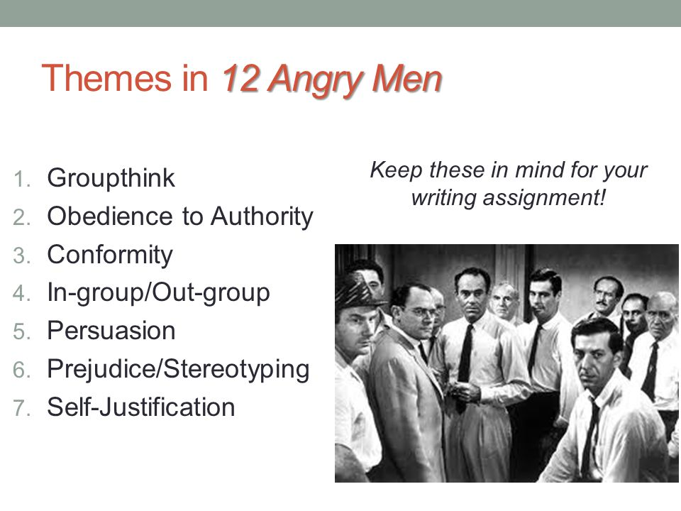 persuasive techniques in twelve angry men The movie provides many examples of persuasive speaking 12 angry men movie analysistwelve angry men analysis ba 12 angry men film analysis.