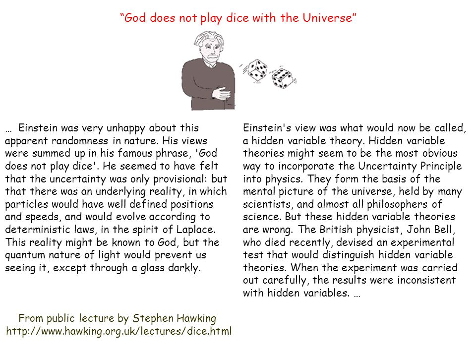 einstein thoughts on god
