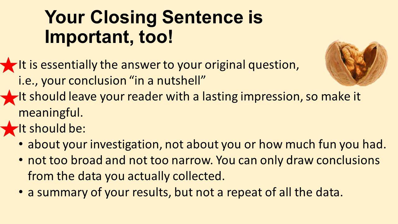 Conclusion sentence???????????