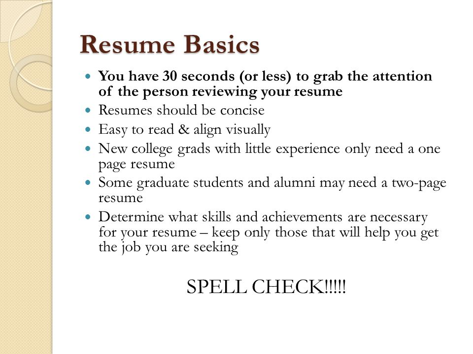 best should a resume only be one page contemporary simple resume