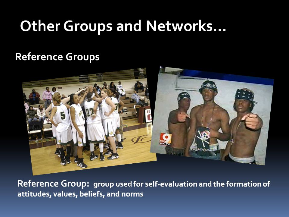 In-Groups and Out-Groups Like two sides of a coin…you can't have one without the other In-Group: exclusive group demanding intense loyalty (cliques) Out-Group: group targeted by in-group for opposition, antagonism, or competition jocks, cheerleaders, etc.