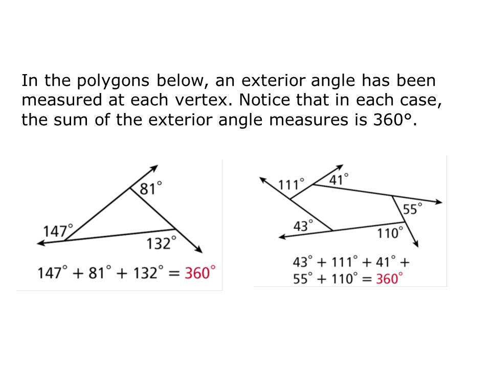 Objectives Classify polygons based on their sides and angles ppt