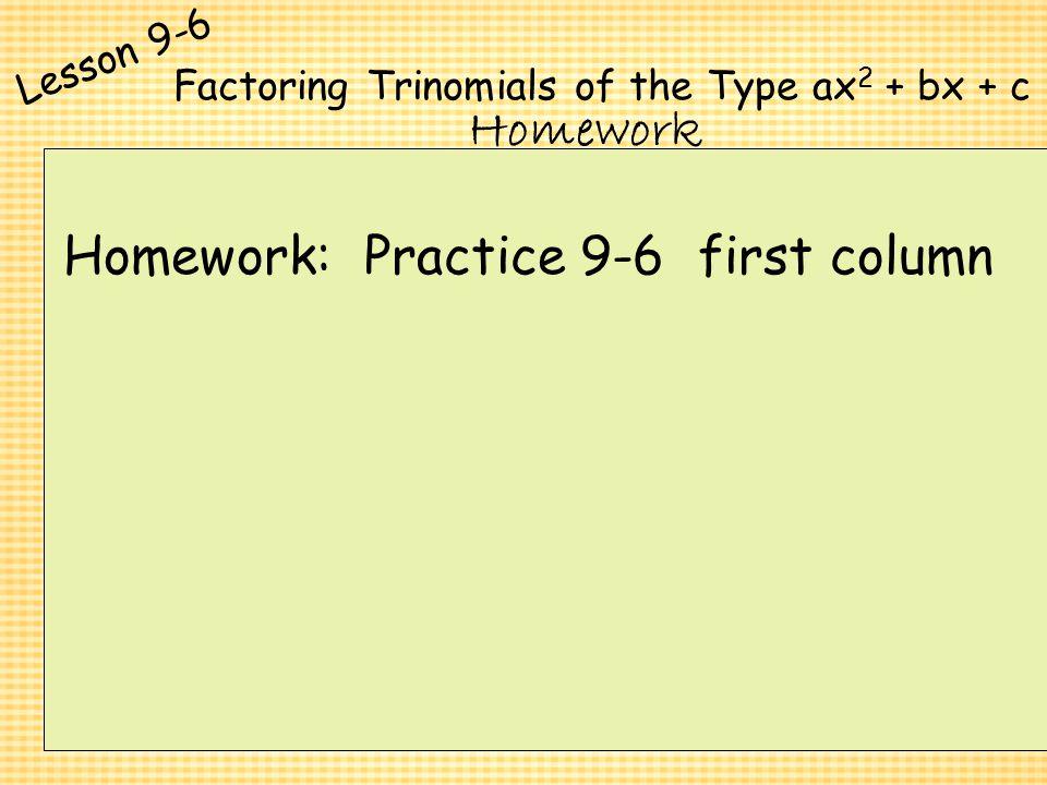 Factoring Polynomials Of The Form Ax2 Bx C Worksheet Answers – Factoring Trinomials of the Form Ax2 Bx C Worksheet Answers