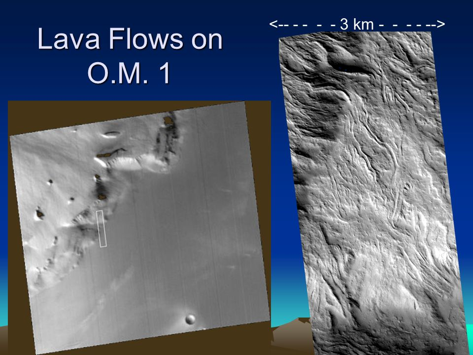 Lava Flows on O.M. 1