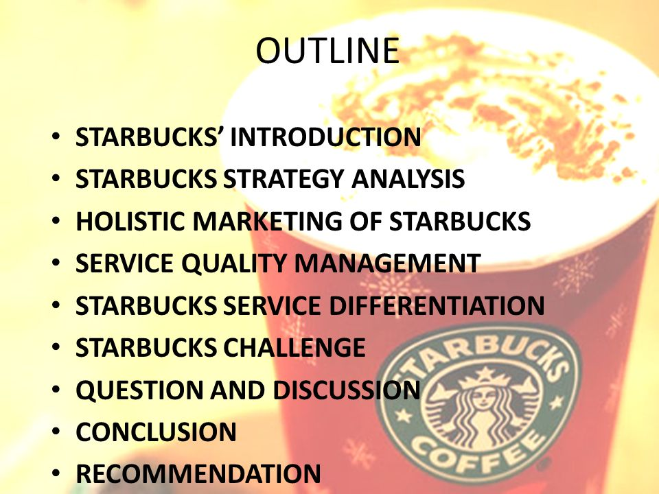 stock market and starbucks essay