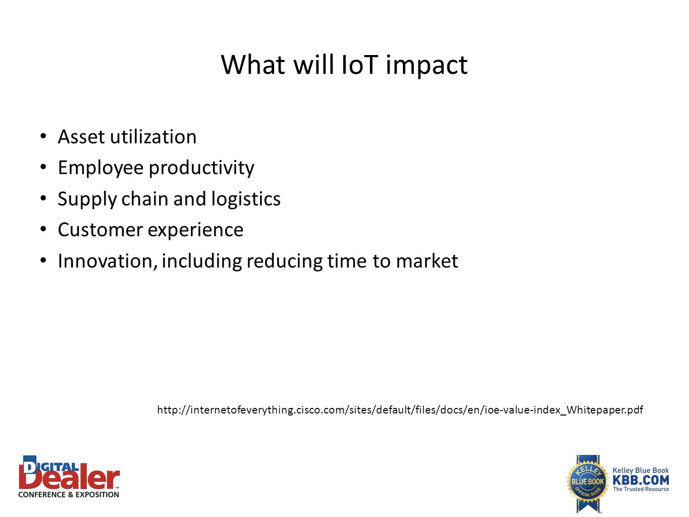 Internet of things What does the future hold for automotive retail ...