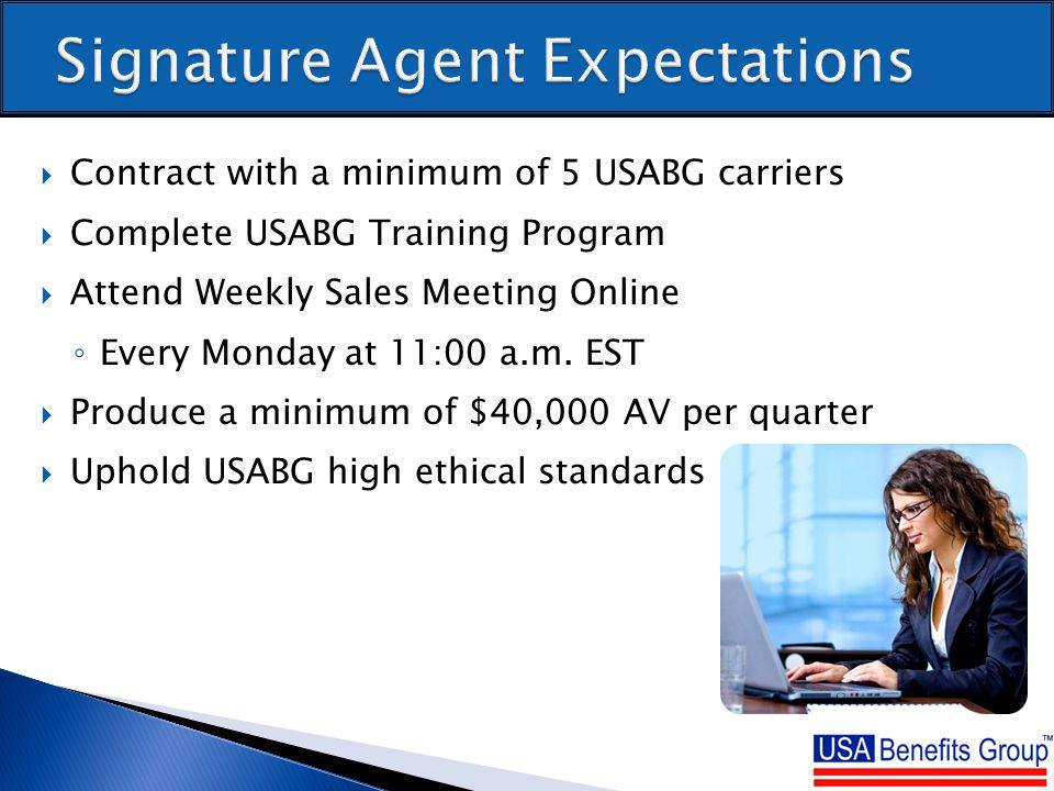 agent usa online