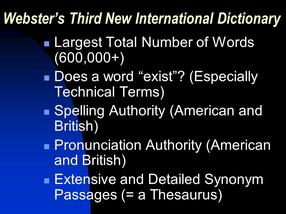 Detailed synonym