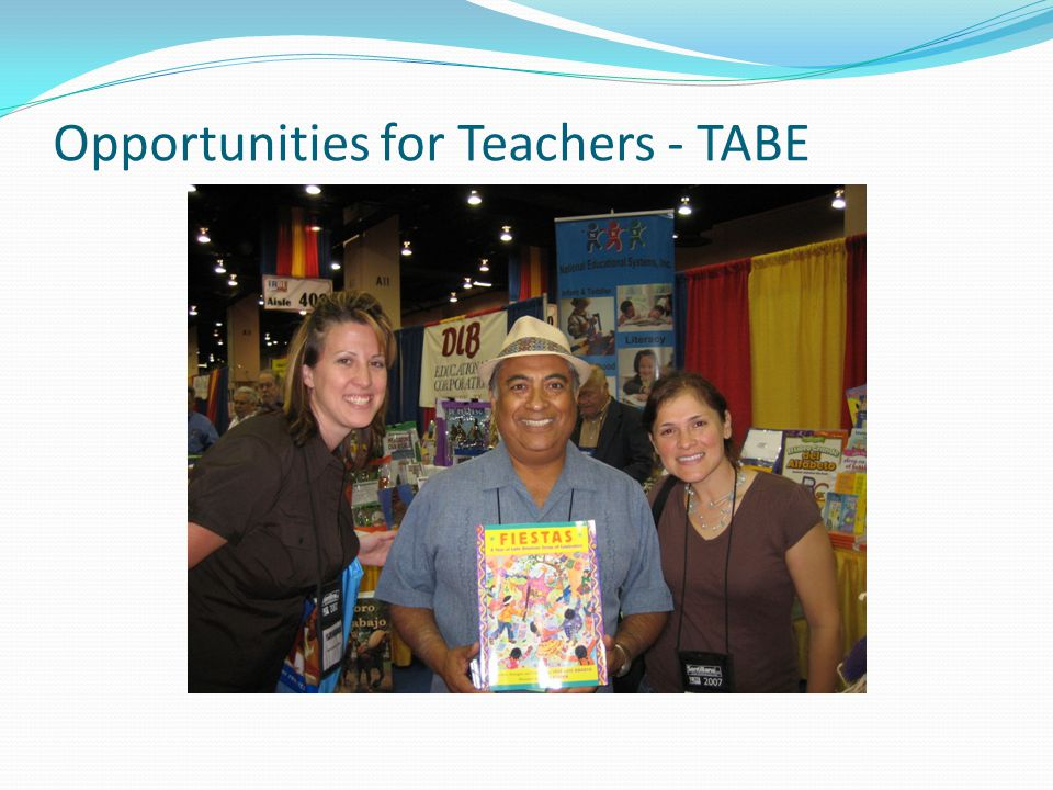 Opportunities for Teachers - TABE