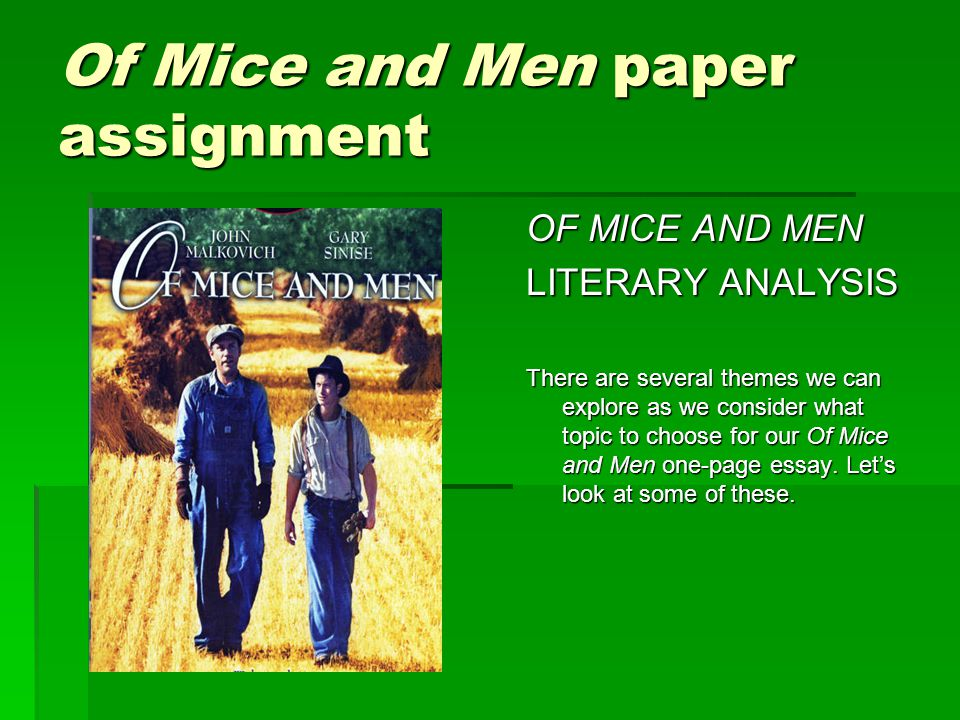 of mice and men george and lennie relationship essay