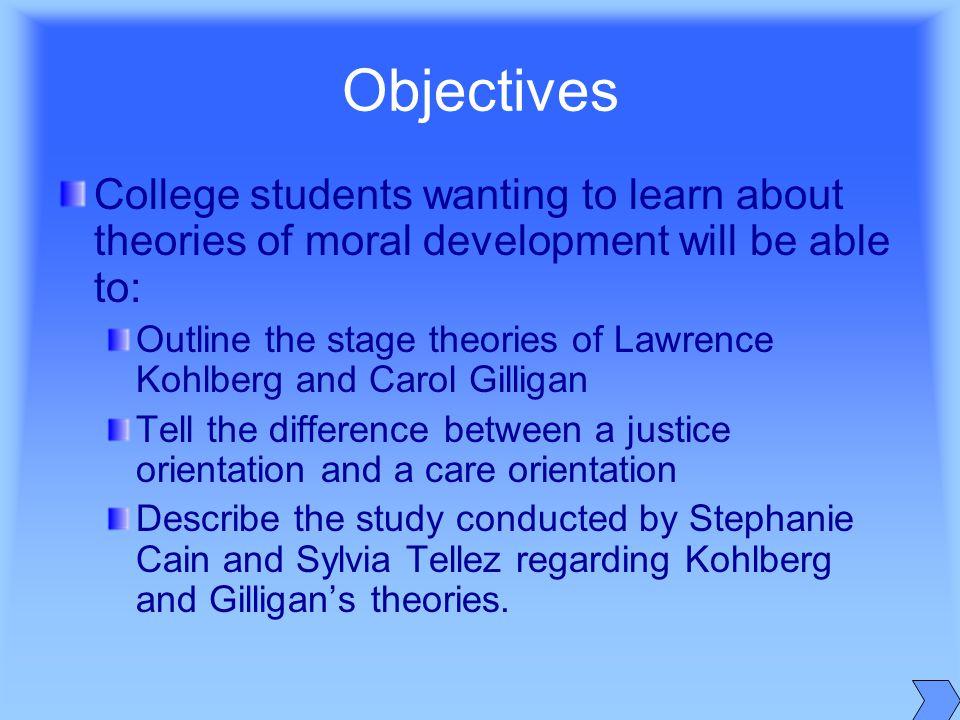 Dissertation on moral development of students