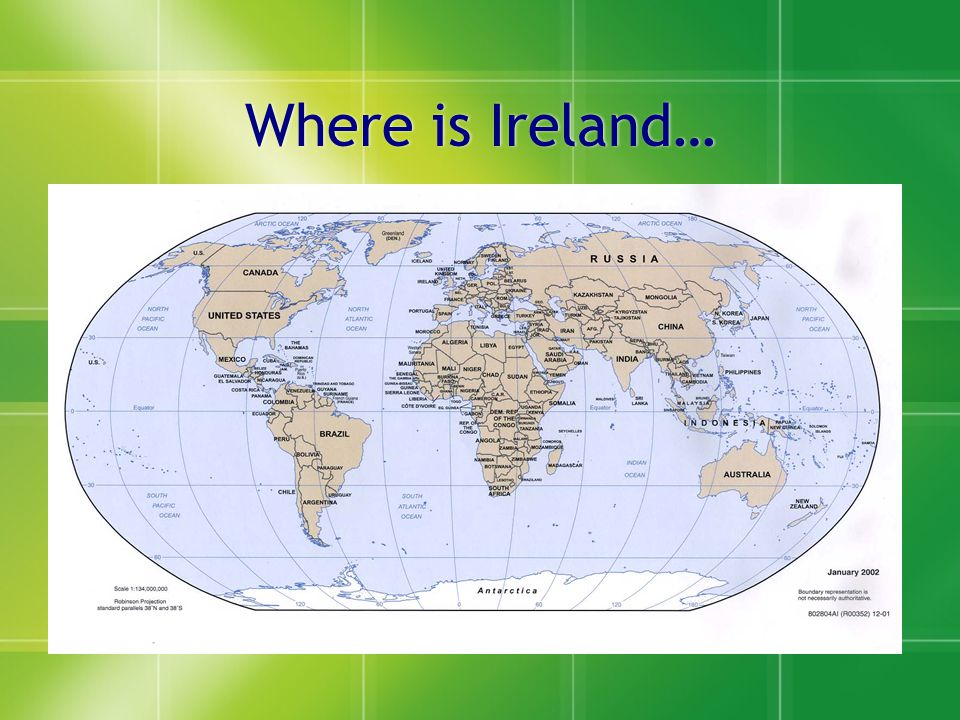 Introduction To Ireland Maureen Loughnane Associate Director Human - Where is ireland