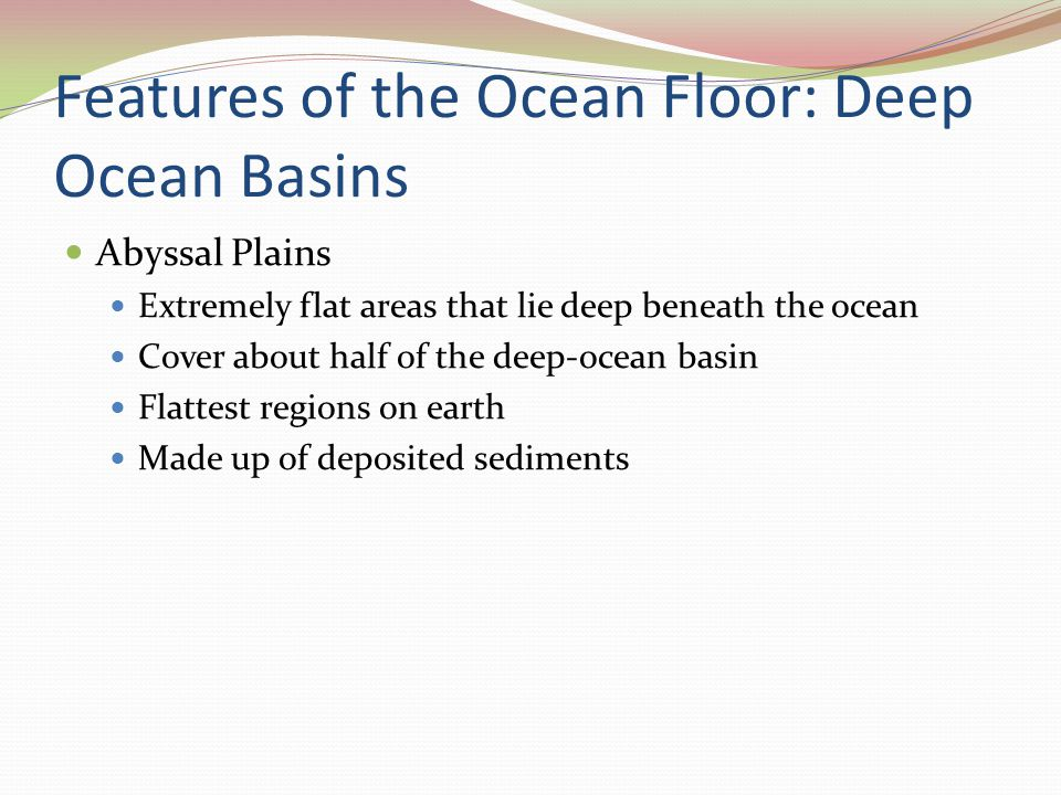 Earth Science Spring The Water Planet Global ocean covers 97% of ...