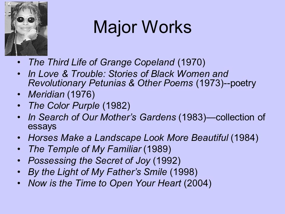 "alice walker born feb ""no person is your friend who  4 major"