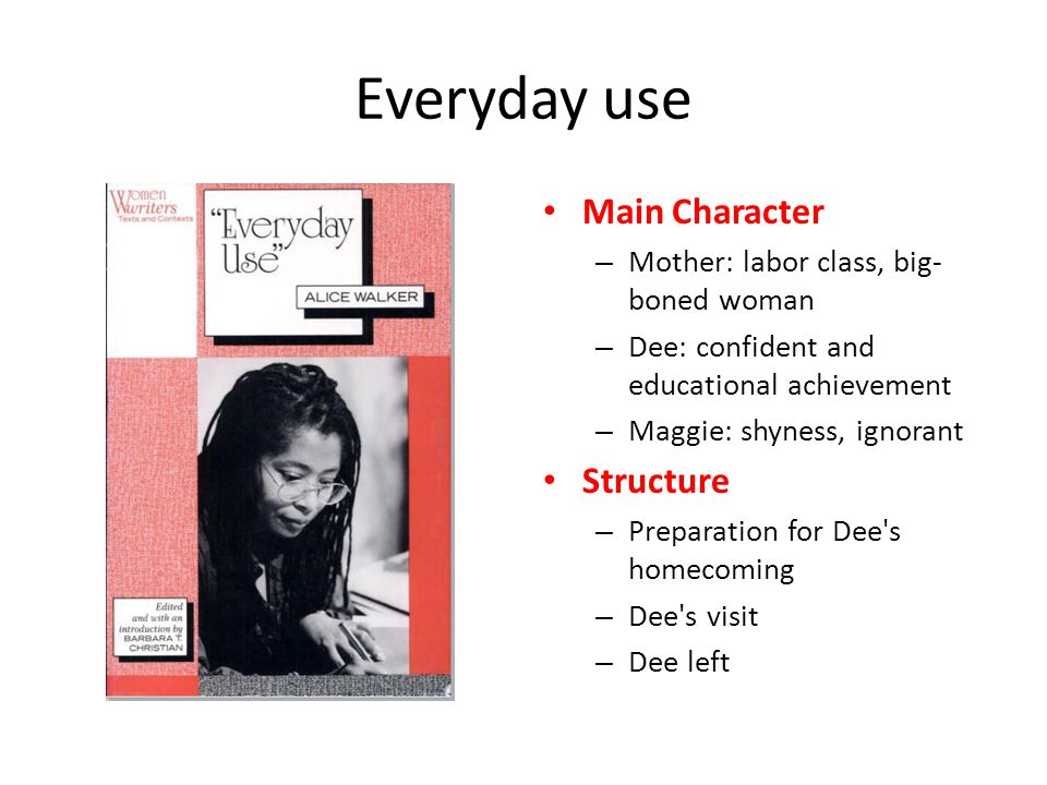 alice walker everyday use and nathaniel hawthorne young goodman  3 everyday use