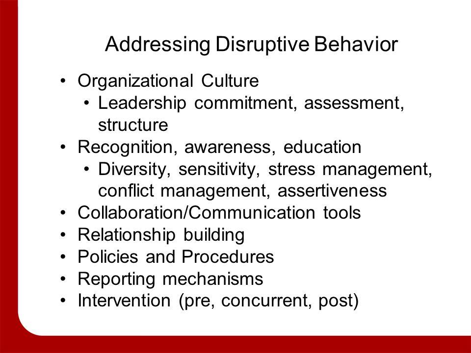 organizational behavior conflict management