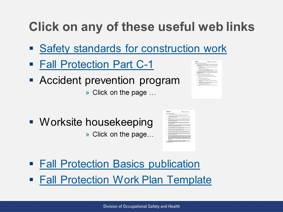 Step-By-Step Guide To Prevent Falls Module E - Other