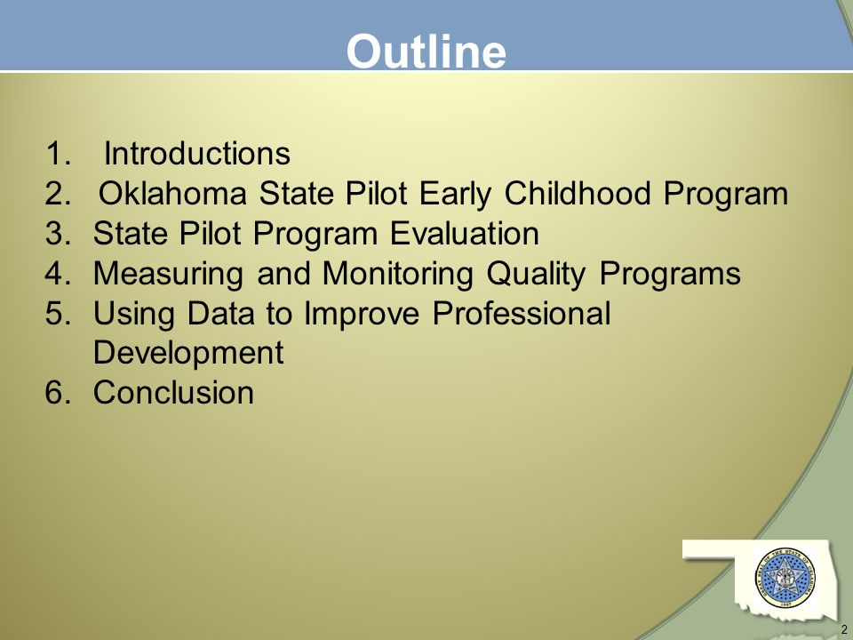 evaluation of early childhood development