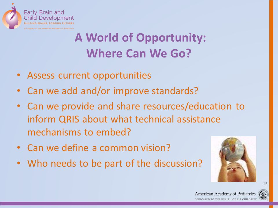 A World of Opportunity: Where Can We Go.