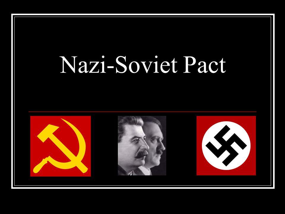 the nazi soviet pact essay