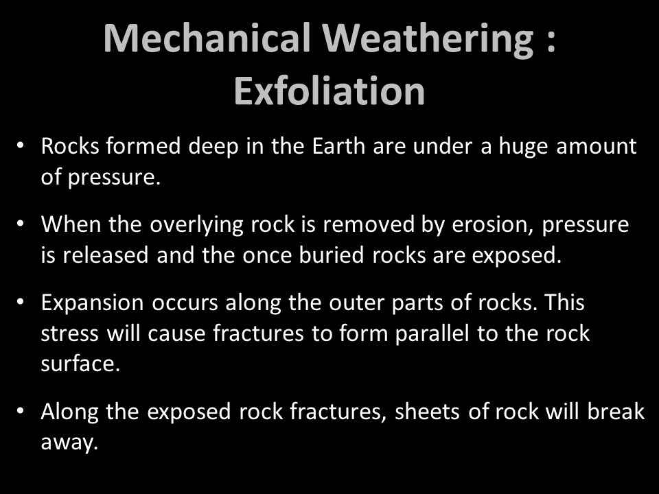 Rocks formed deep in the Earth are under a huge amount of pressure.