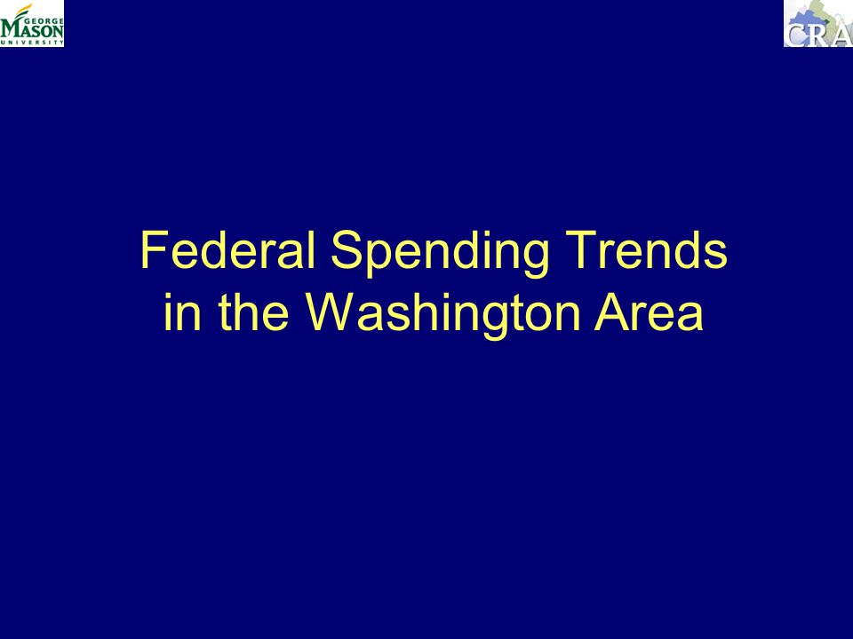 Federal Spending Trends in the Washington Area