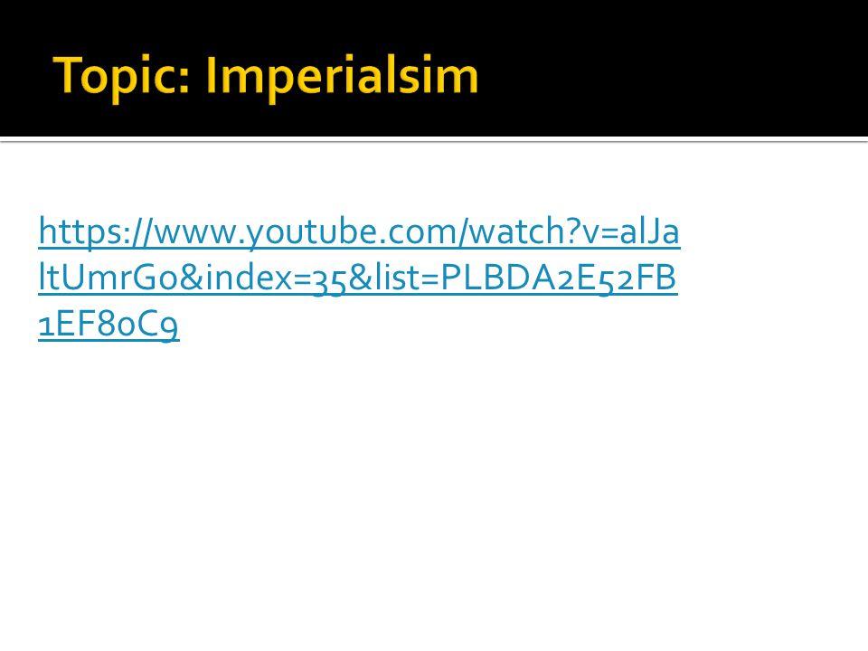 https://www.youtube.com/watch v=alJa ltUmrGo&index=35&list=PLBDA2E52FB 1EF80C9