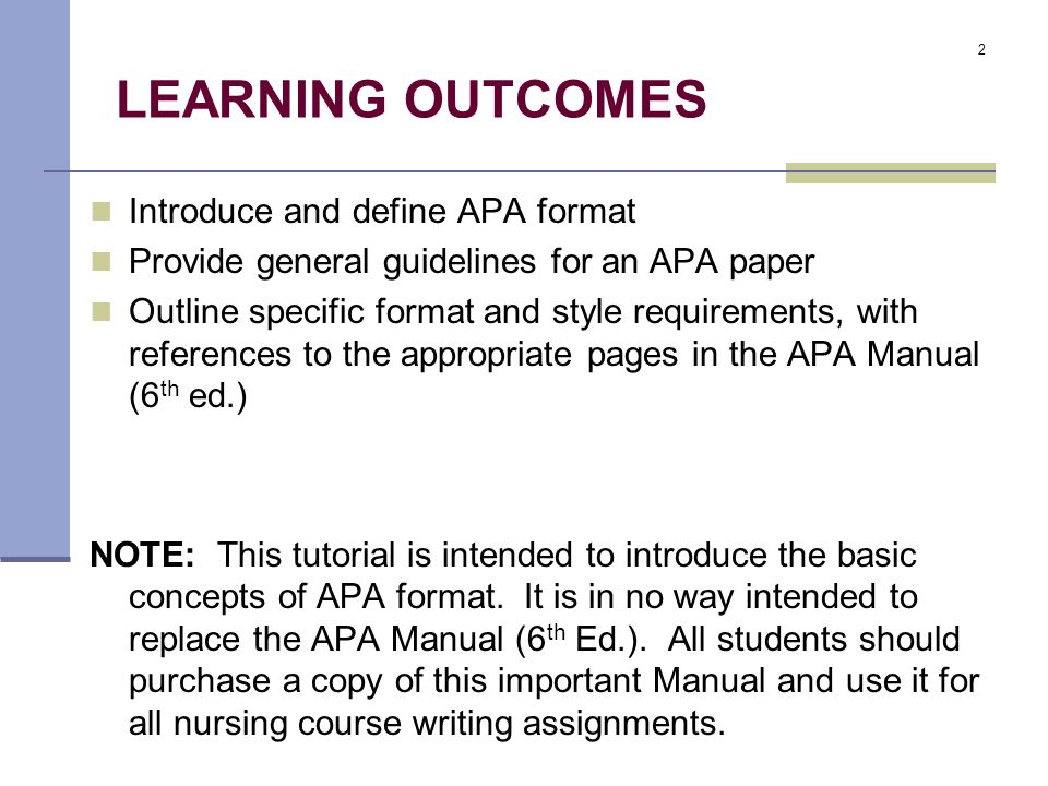 Apa paper requirements
