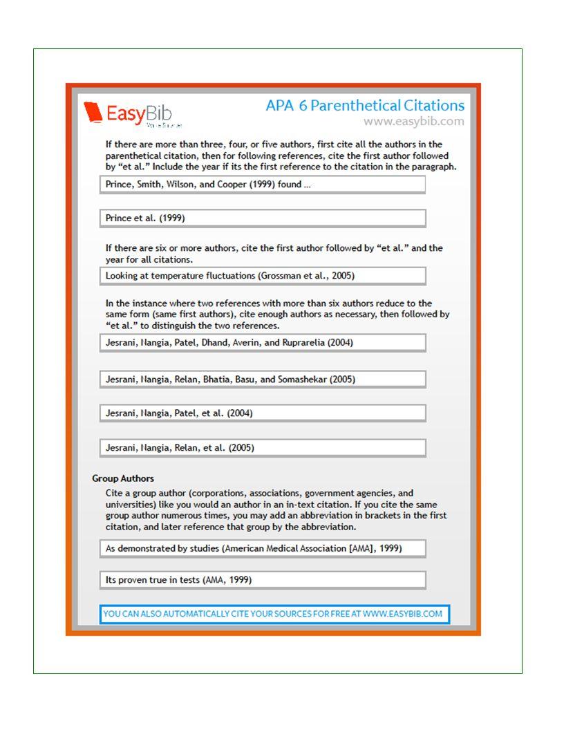 american medical association citation style