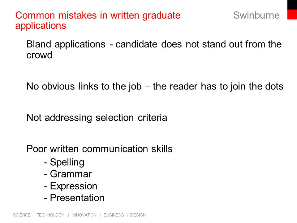 Cover Letter Selection Criteria Application