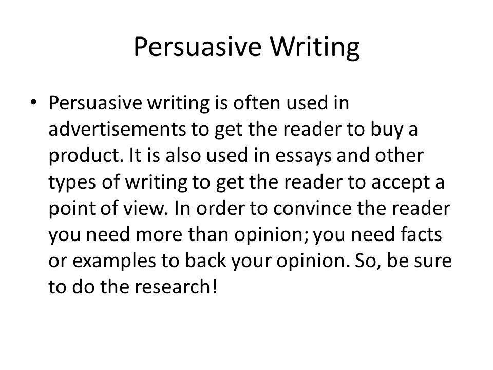 advertisements essay writing