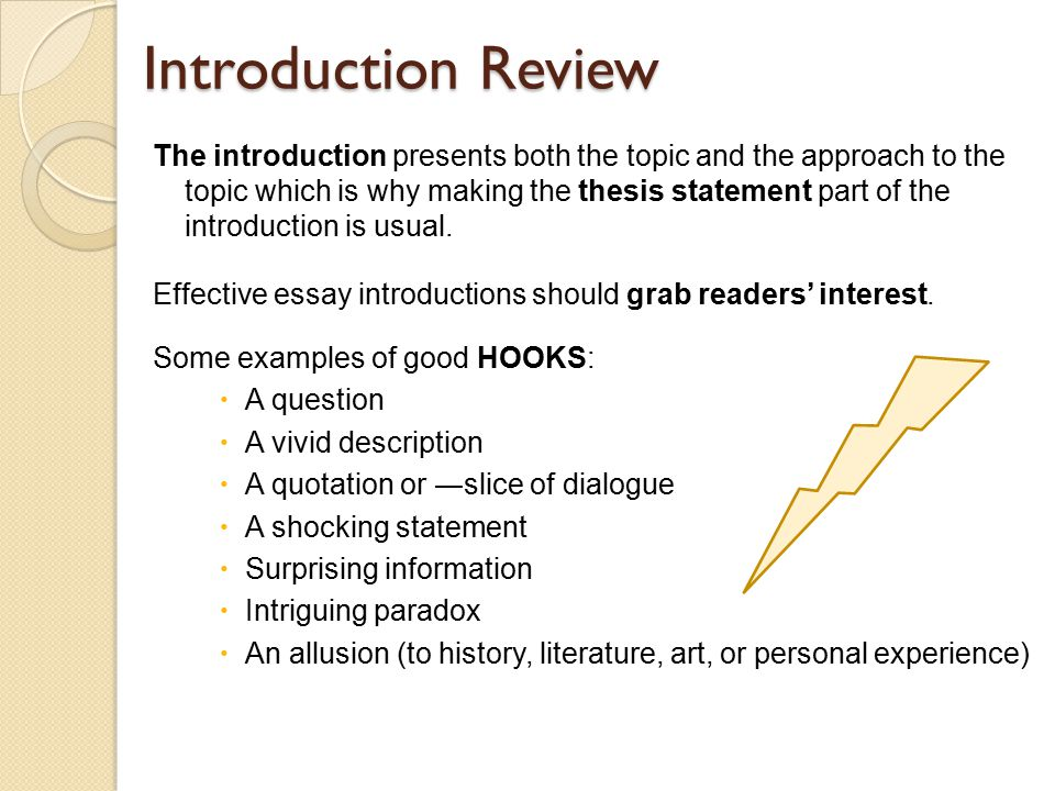 important essay writing elements introduction review the  important essay writing elements 2 introduction