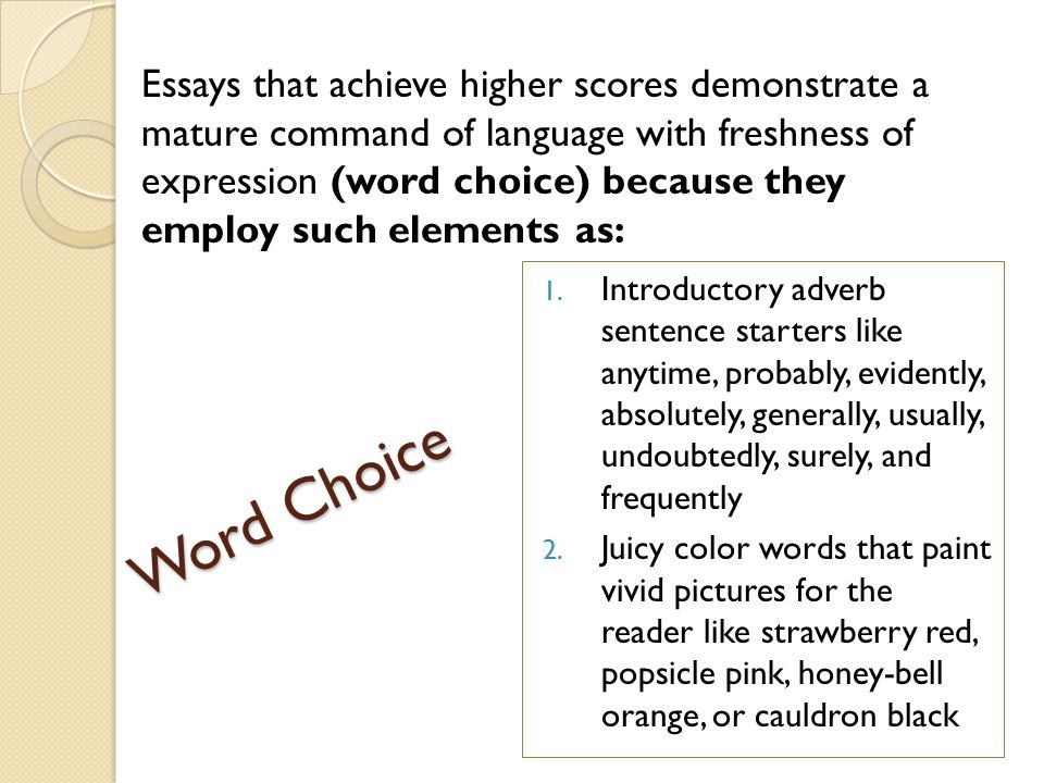 sentence starters for essays history Paragraph starters for informational essays finally, informational essays are meant to teach the audience use these essay starters to set your writing off on the right foot this essay will explore/examine/discuss in this essay, i will analyze experts agree that there are many ways to have you ever would you believe that.