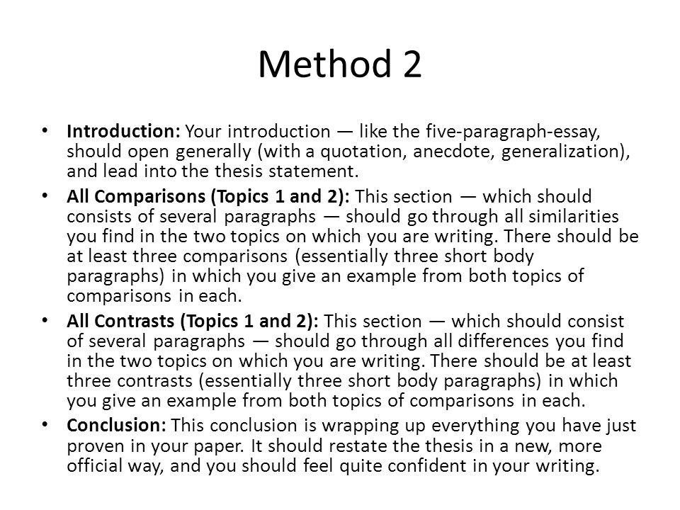introduction in methods essay Writing a college application essay is not easy, these are some useful hints and tips on how to construct and write the best essay possible.