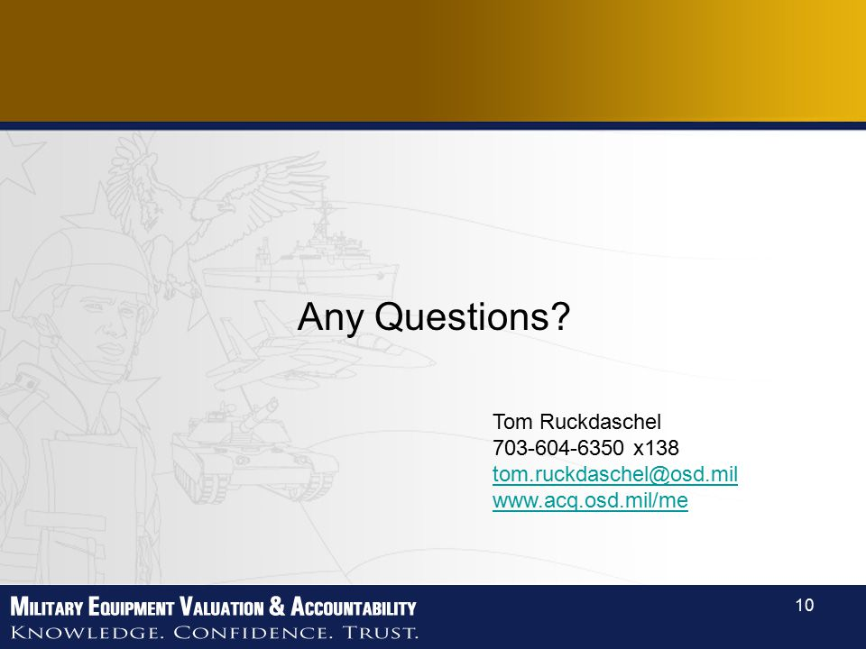 10 Any Questions Tom Ruckdaschel x138