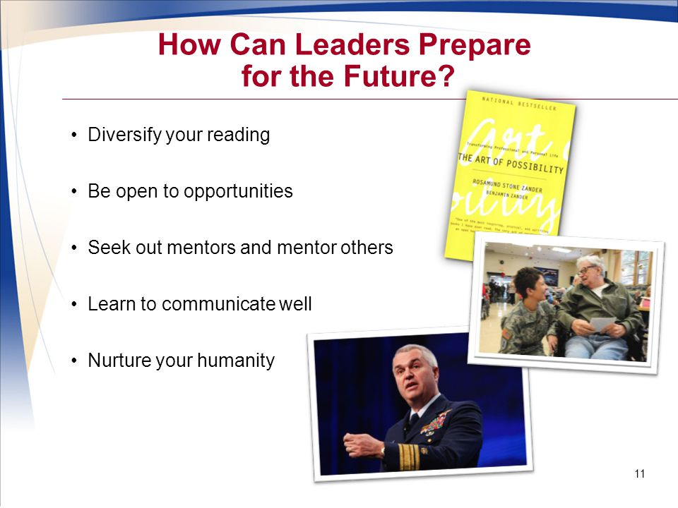 How Can Leaders Prepare for the Future.
