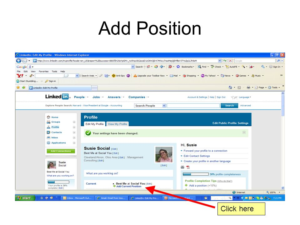 Add Position Click here