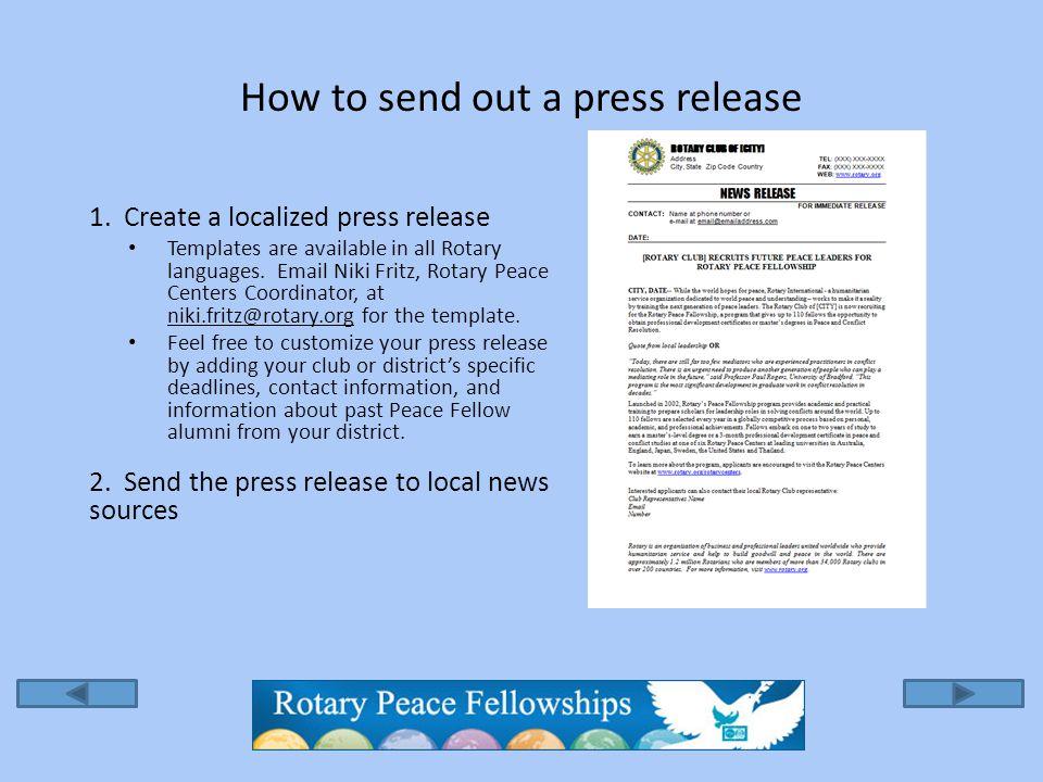 Send to press