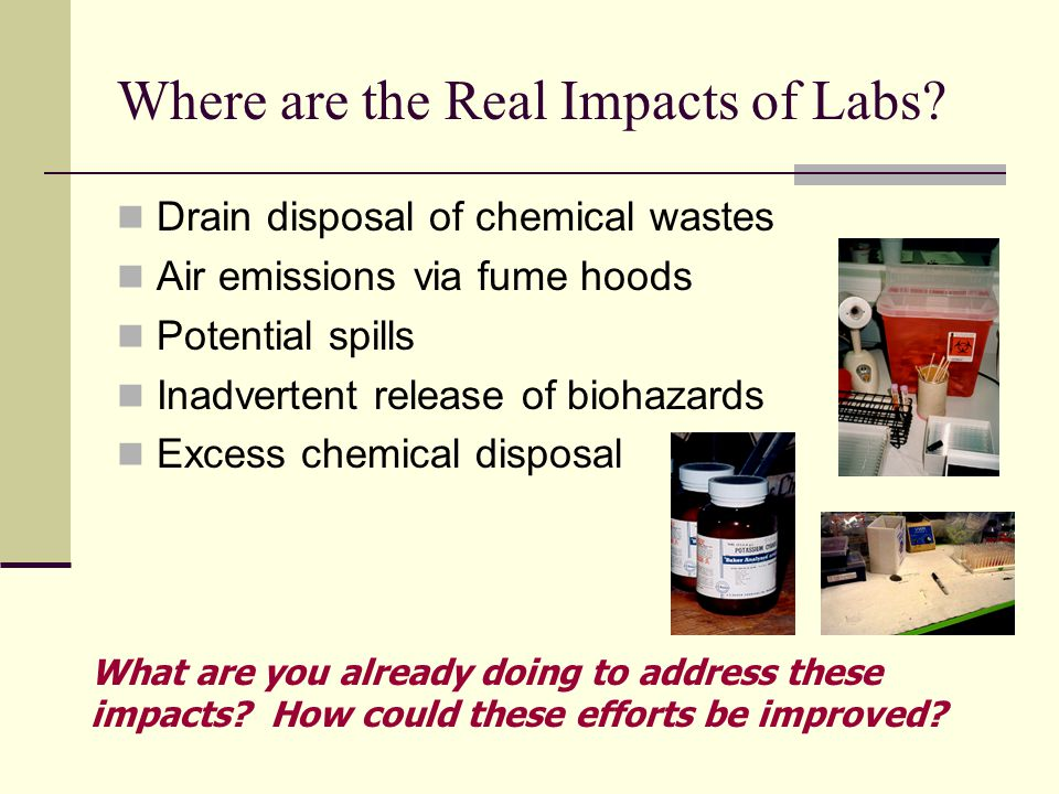 Where are the Real Impacts of Labs.