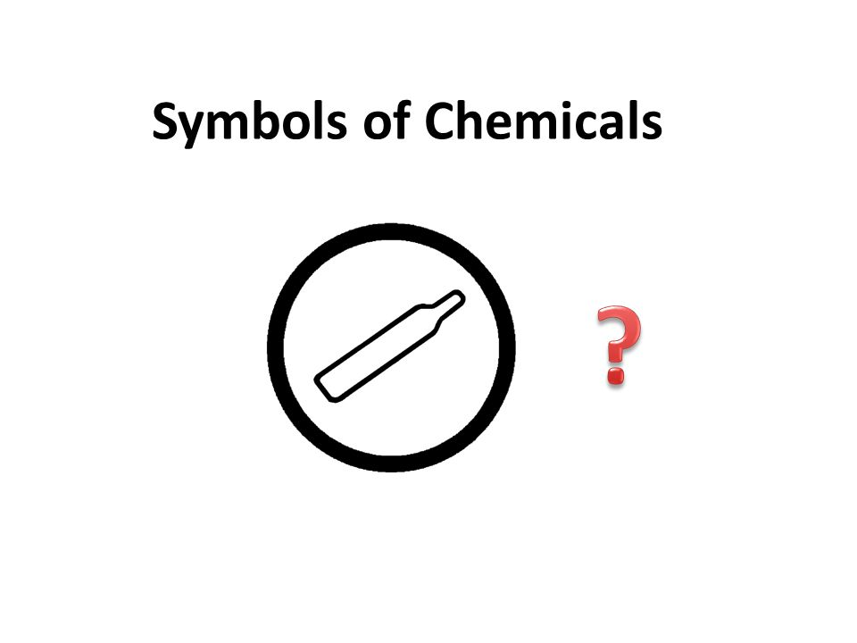 WHMIS - Your right to know...L 10 Symbols of Chemicals L 18