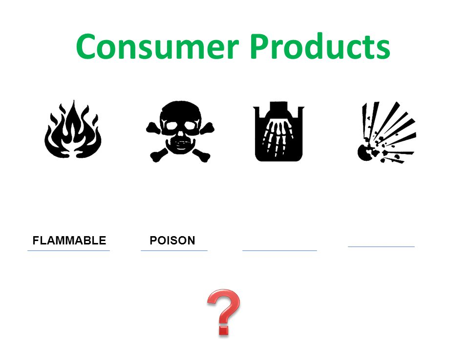 Consumer Products FLAMMABLEPOISON