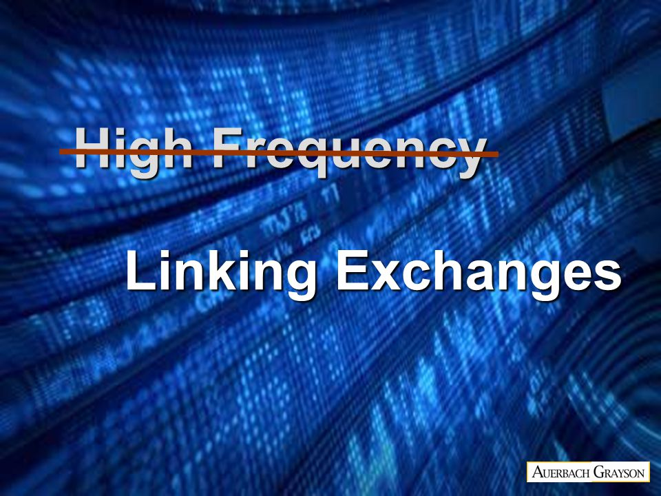 Linking Exchanges