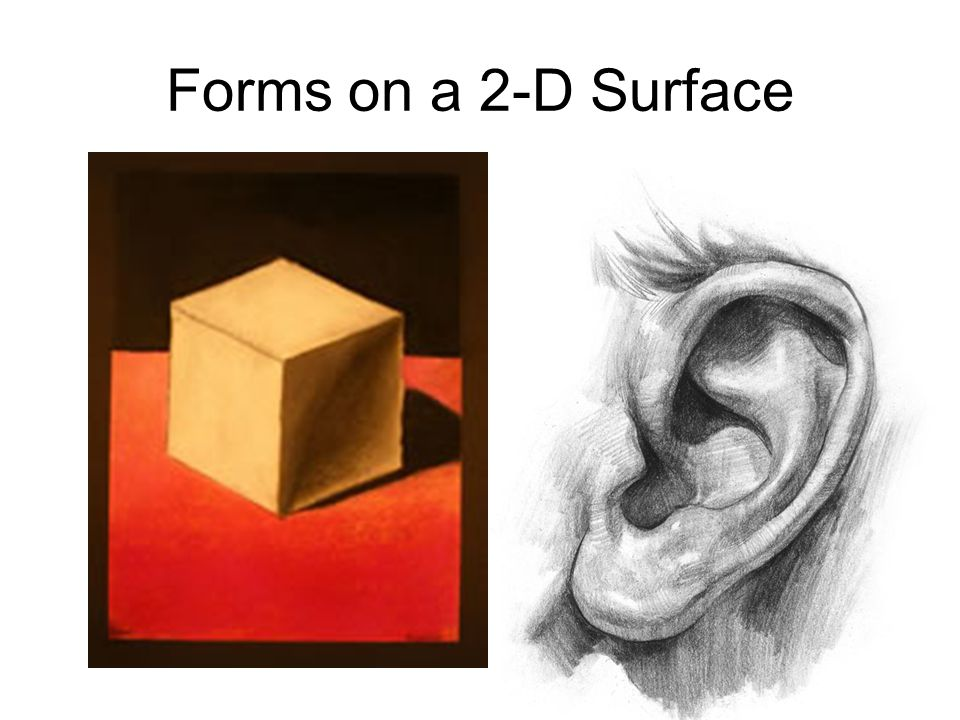 Forms on a 2-D Surface