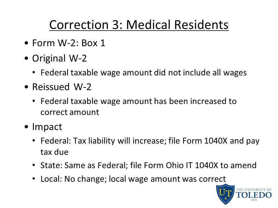 Amending Income Tax Returns Janet Mosebach George Mutter Department ...