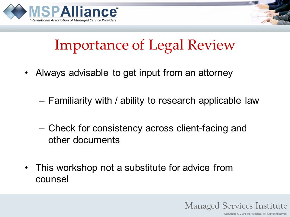 importance of indemnity contracts