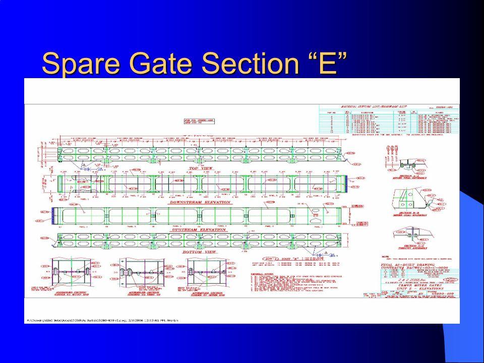 Spare Gate Section E
