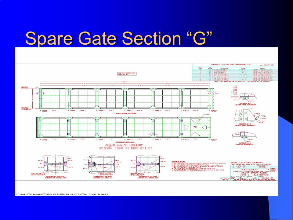 Spare Gate Section G