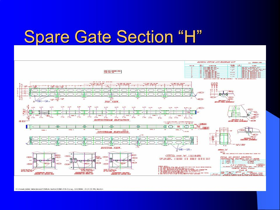 Spare Gate Section H