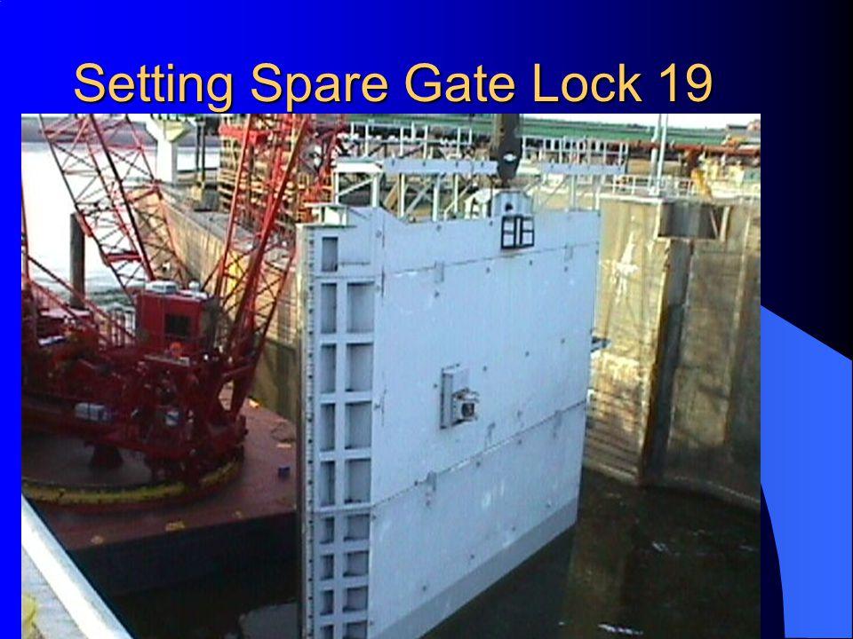 Setting Spare Gate Lock 19
