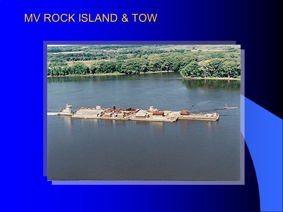 MV ROCK ISLAND & TOW